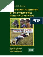 Meta-Impact Assessment of the Irrigated Rice Research Consortium