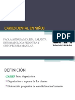 CARIES DENTAL EN NIÑOS modif