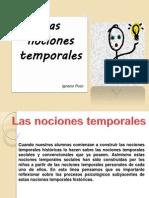 Las Nociones Temporales
