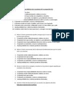 Decálogo didáctico de la enseñanza de la composición