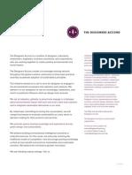 Designers Accord Summary