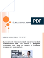 TÉCNICAS DE LABORATÓRIO