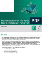 smart phones create smart shoppers
