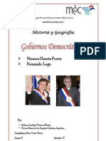 Gobierno de Lugo y Nicanor