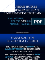 Hubungan Htn Dengan Ilmu Pengetahuan Lain