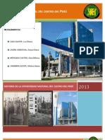 HISTORIA DE LA UNIVERSIDAD NACIONAL DEL CENTRO DEL PERÚ-1