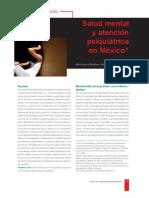 Salud Mental y Atencion Psiquiatrica en Mexico