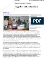 Amway Opportunity foundation unveils Project Sunrise in Guwahati