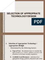 5 Pdw (Selection of App Tech)