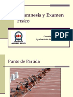 Anamnesis y Examen Físico