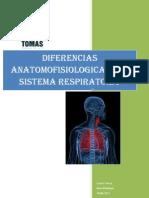 diferencias respiratorias entre adultos y niños