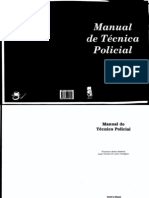 MANUAL TÉCNICA POLICIAL