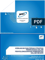 [BPPT] Kebijakan Dan Peran Strategi Perekayasa Dalam Penyelenggaraan Pemerintah Dalam Negeri