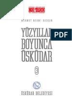 Mehmet Nermi Haskan Yüzyillar Boyunca Üskudar Cilt 3 (2001)