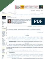 As condições da ação, as sentenças terminativas e a sistemática recursal - Artigos - Conteúdo Jurídico