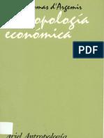 Comas D'Argemir Antropología económica