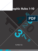 Typographic Rules 1-10