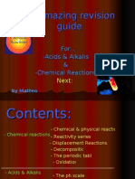 An Amazing Revision Guide for… -Acids & Alkalis &