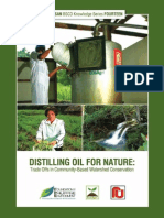 Distilling Oil for Nature