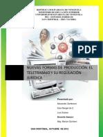 eltetetrabajoysuregulacinjurdicaenvenezuela-121116071502-phpapp02