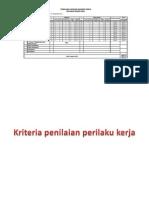 Penilaian Kinerja Pegawai PP No 46 Tahun 2011 SKP
