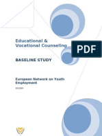 Baseline Study on Educational and Vocal Counseling