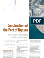 WHARF DESIGN AND ANALYSIS