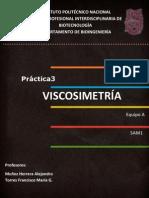 Reporte Viscosimetría