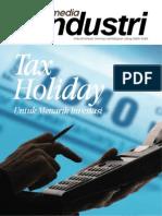 Majalah Industri 1 2012 Web - Tax Holiday