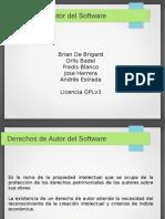 Derechos de Autor Del Software
