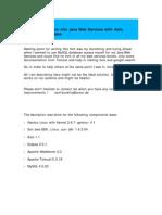 Hint MySQL Axis Tomcat Eclipse Java V01