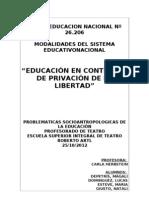 Tp Educaion e Contextos de Encierro