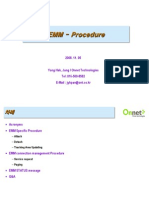 LTE EMM Specific Procedure
