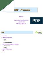 LTE EMM Specific Procedure