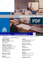 51086318 ABAP Web Dynpro Training Material