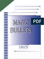 Savoy - Magic Bullets