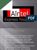 Airtel recruitment presentation