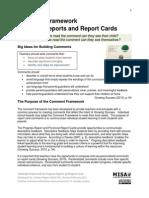 Comment Framework Feb 2011