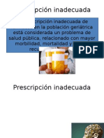 Lineamientos para la prescripción