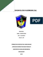 makalah togsikologi kadmium