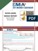 Ncdex Weakly Report 8 Jun