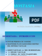Hemostasia Clase 08