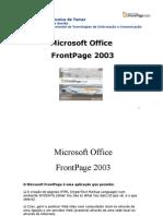 Apostila de FrontPage 2003
