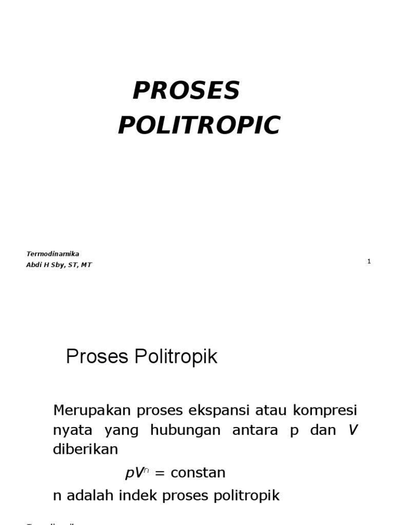 4aproses politropik ccuart Gallery