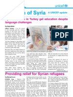 Children of Syria Newsletter- 6 June 2013