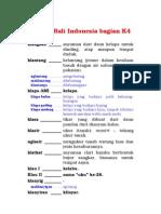 Kamus Bali Indonesia Bagian K4