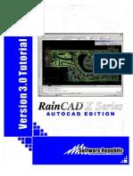 RainCAD X Series 3.0 Manual