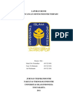 Laporan Praktikum Perancangan Sistem Industri Terpadu