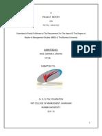 pojectonretailbankinggarimalatest1amit-130118005244-phpapp01.docx