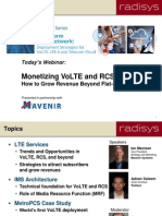 How to Grow Revenue Beyond Flat-Rate Data Plans With VoLTE & RCS